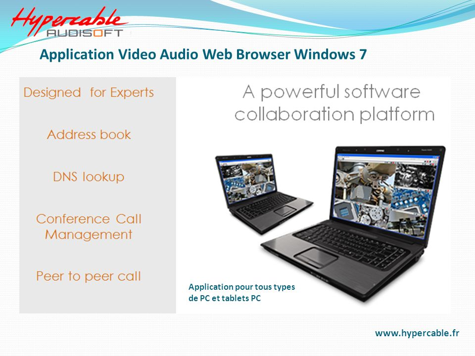 Application Video Audio Web Browser Windows 7