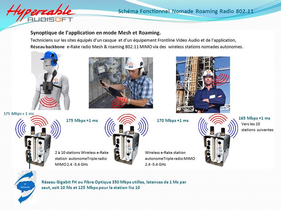 Schéma Fonctionnel Nomade Roaming Radio 802.11