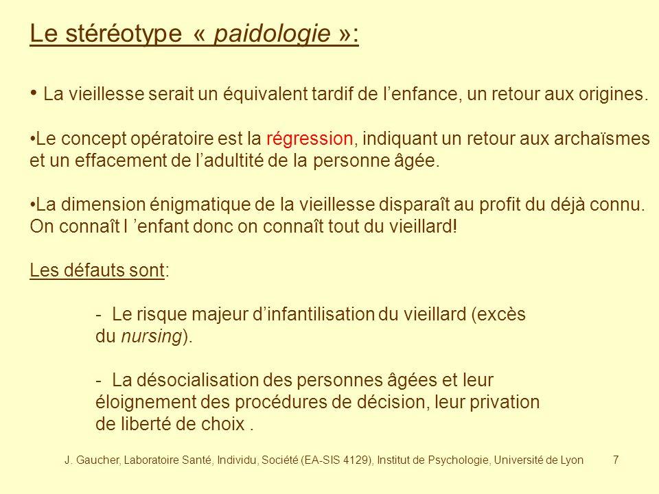 Le stéréotype « paidologie »: