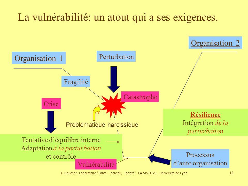 La vulnérabilité: un atout qui a ses exigences.