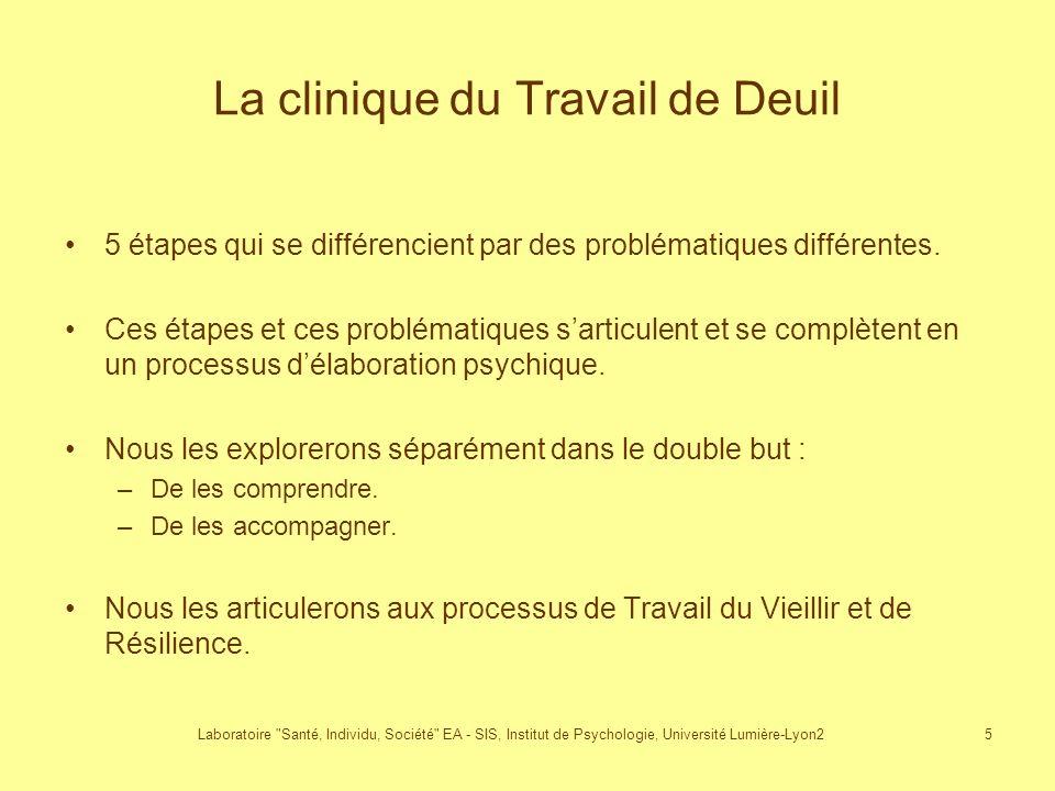La clinique du Travail de Deuil