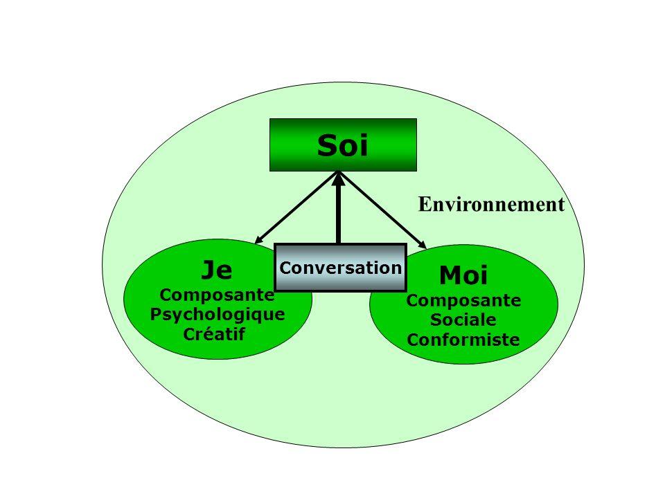 Soi Je Moi Environnement Conversation Composante Composante