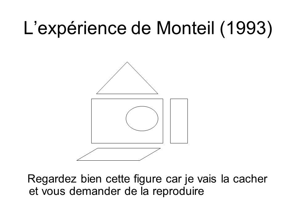 L'expérience de Monteil (1993)
