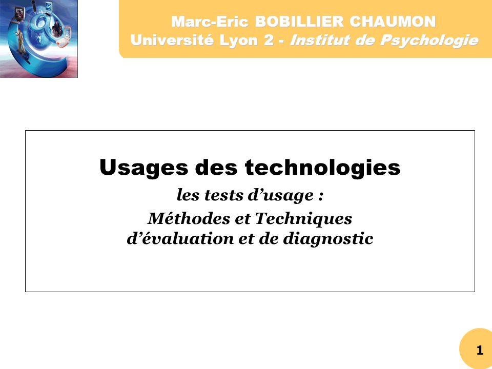 Usages des technologies