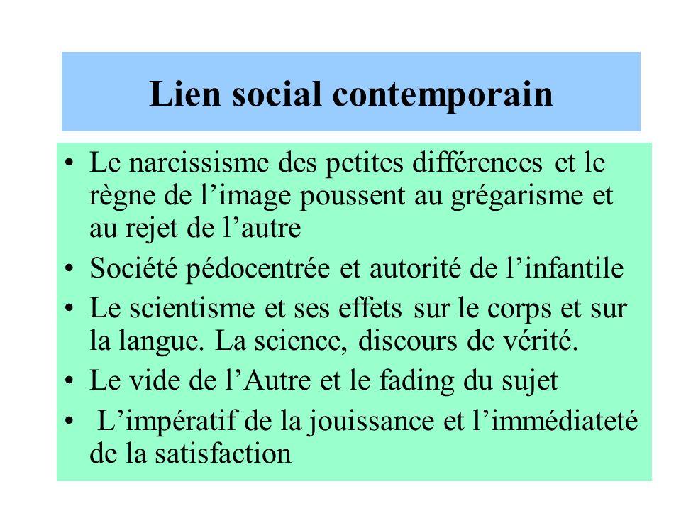 Lien social contemporain