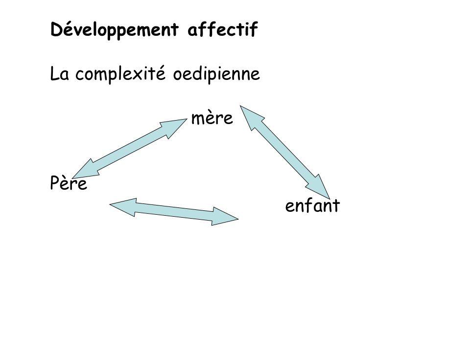 Développement affectif