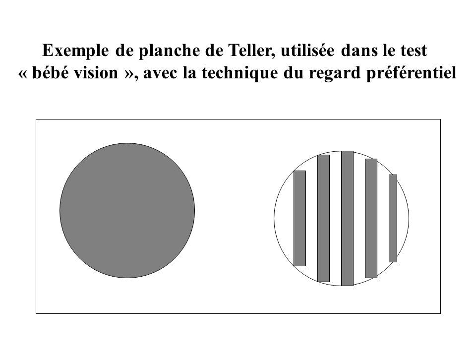 Exemple de planche de Teller, utilisée dans le test
