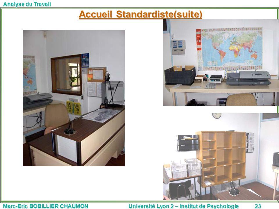 Accueil Standardiste(suite)