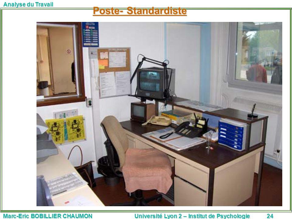 Poste- Standardiste