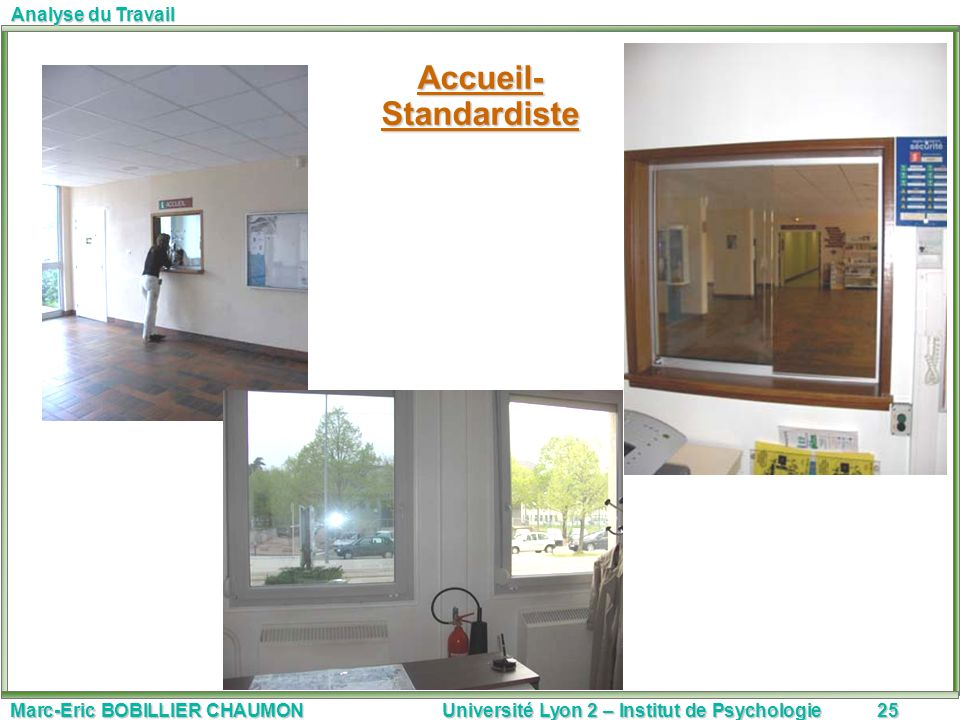 Accueil- Standardiste