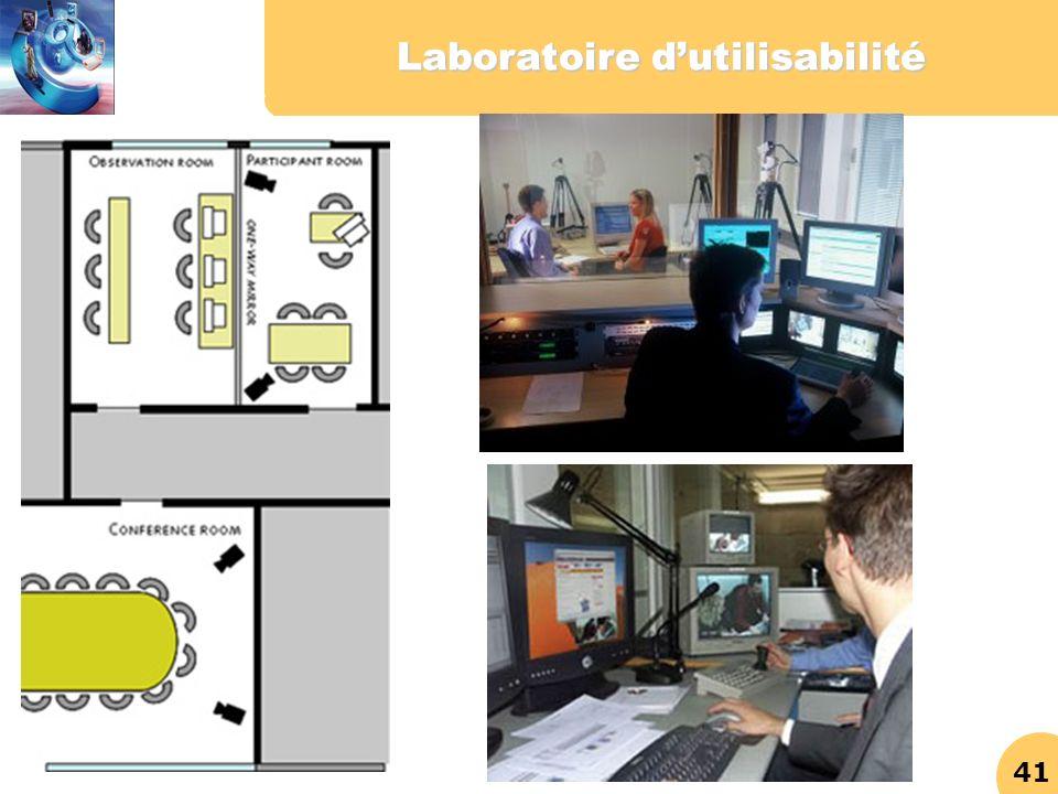 Laboratoire d'utilisabilité
