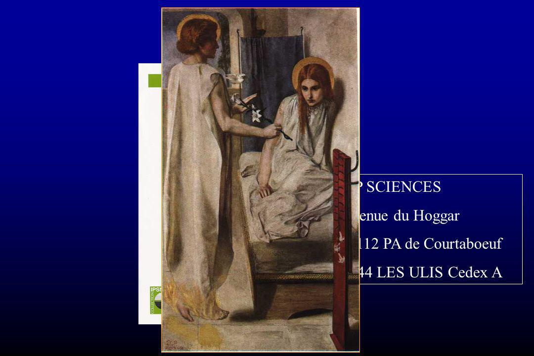 Conclusion EDP SCIENCES 7 avenue du Hoggar BP 112 PA de Courtaboeuf