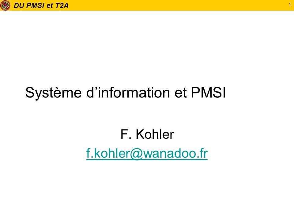 Système d'information et PMSI