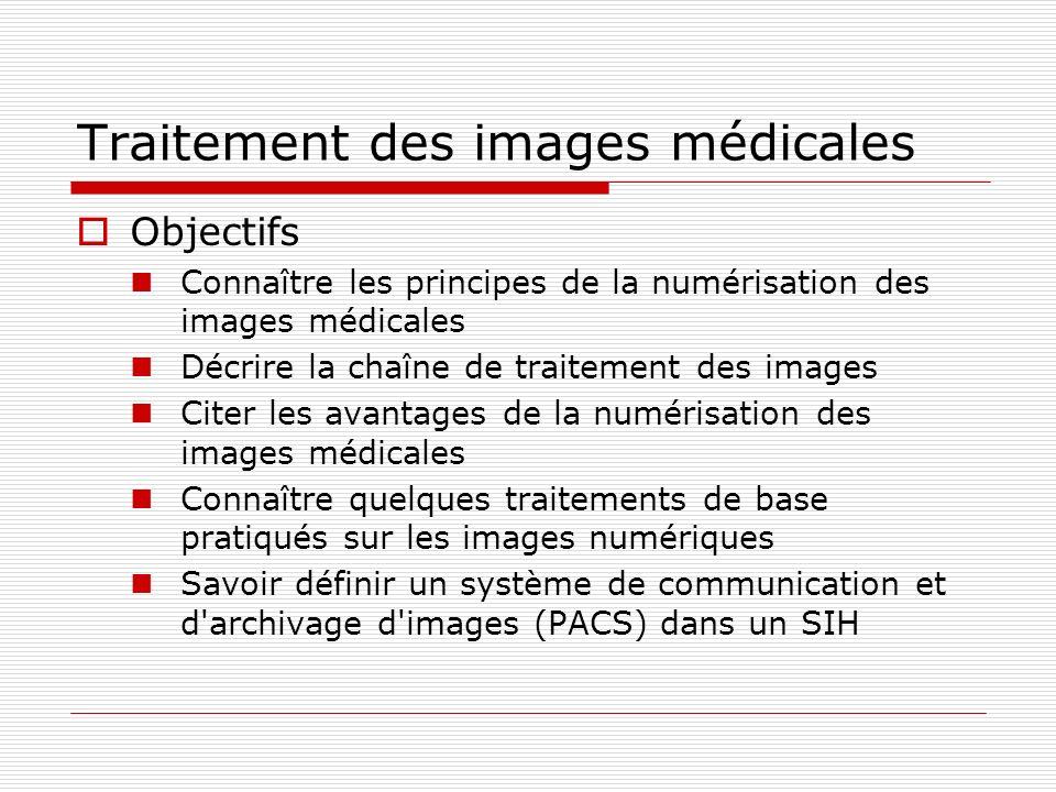 Traitement des images médicales