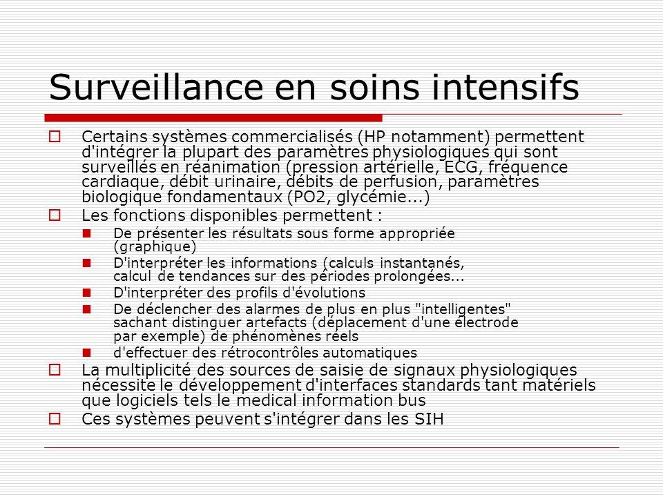 Surveillance en soins intensifs