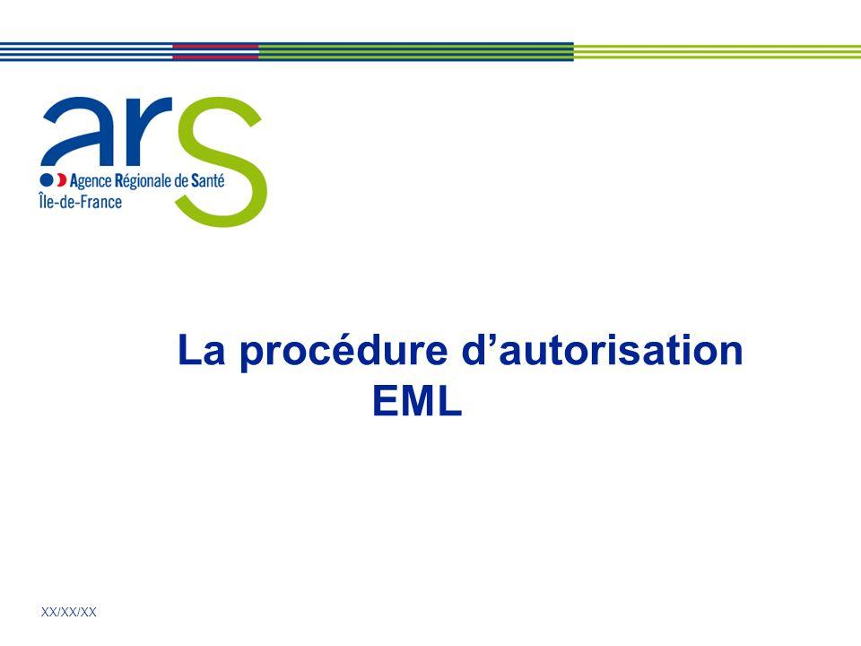 La procédure d'autorisation EML