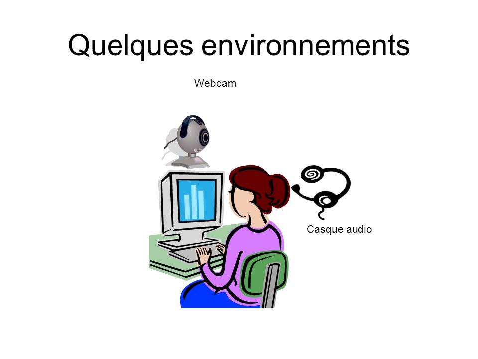 Quelques environnements