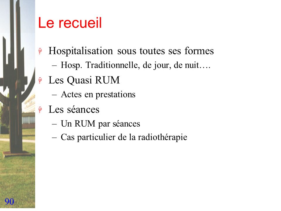 Le recueil Hospitalisation sous toutes ses formes Les Quasi RUM