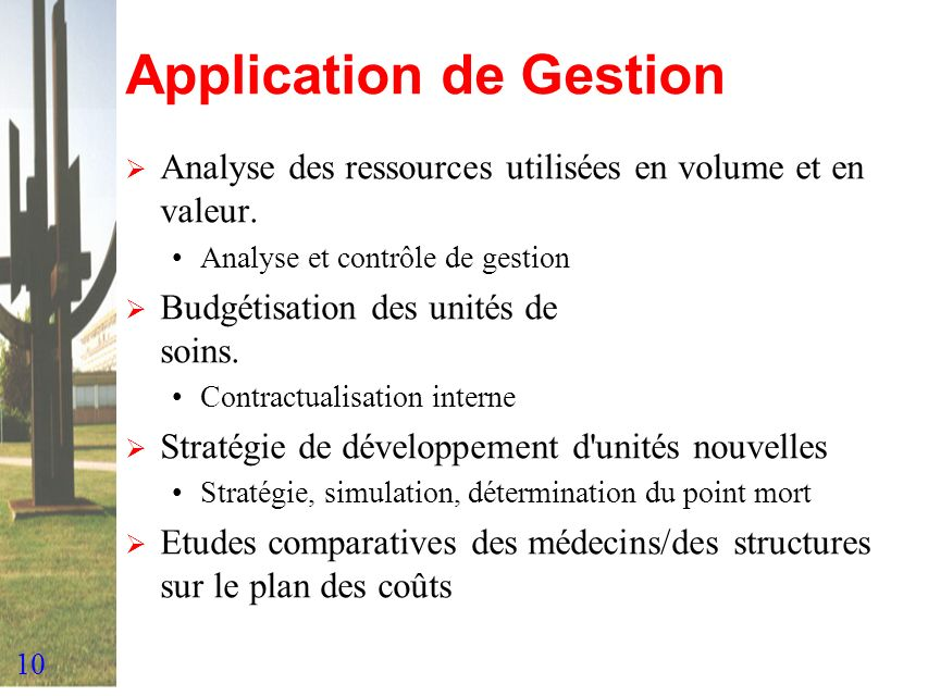 Application de Gestion