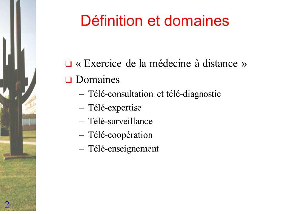 Définition et domaines