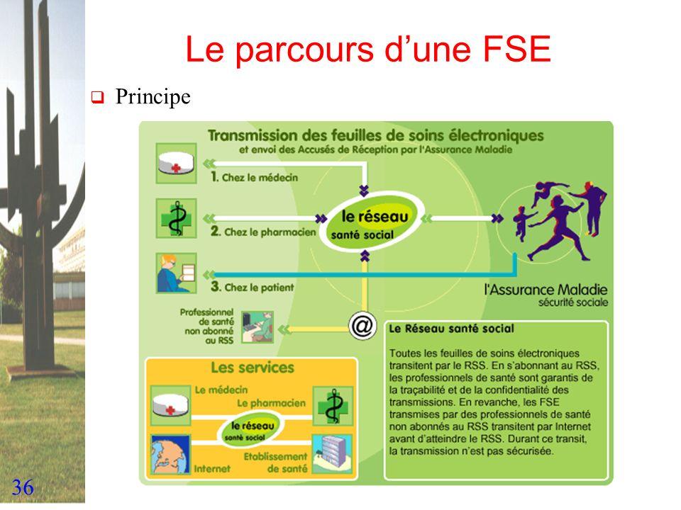 Le parcours d'une FSE Principe
