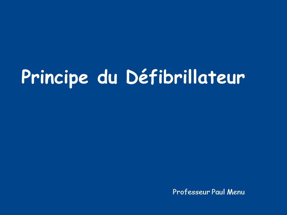 Principe du Défibrillateur