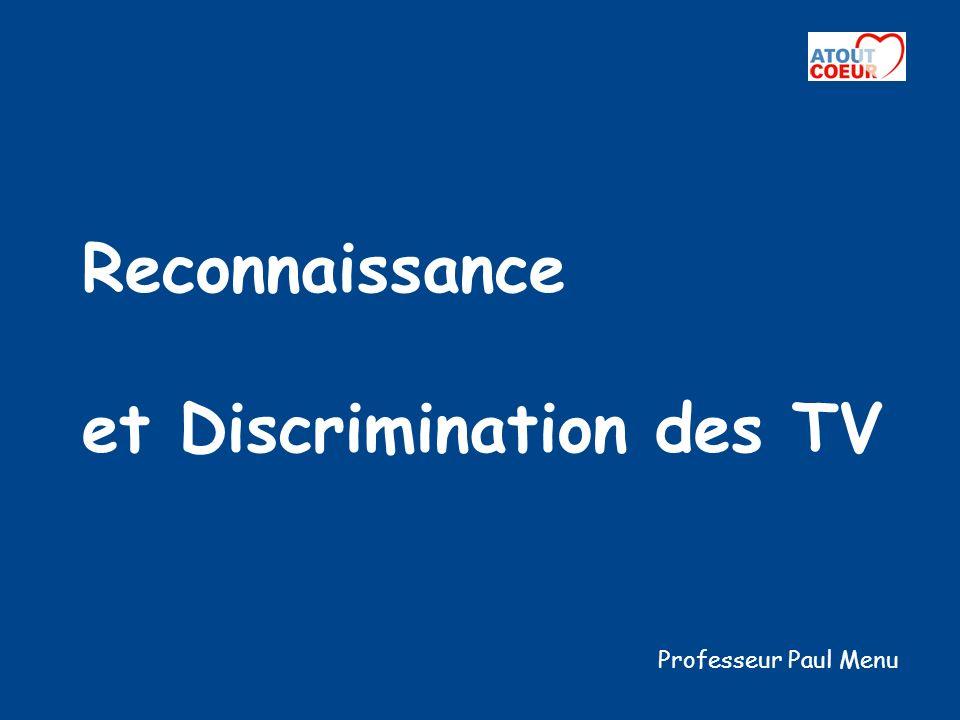 Reconnaissance et Discrimination des TV