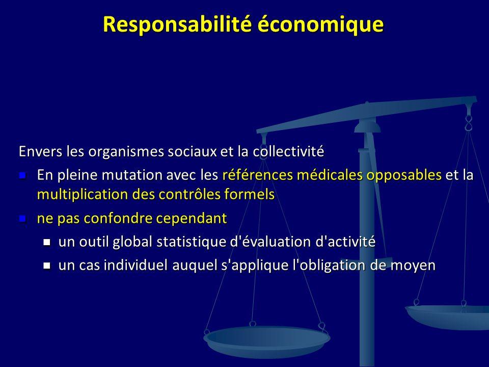 Responsabilité économique