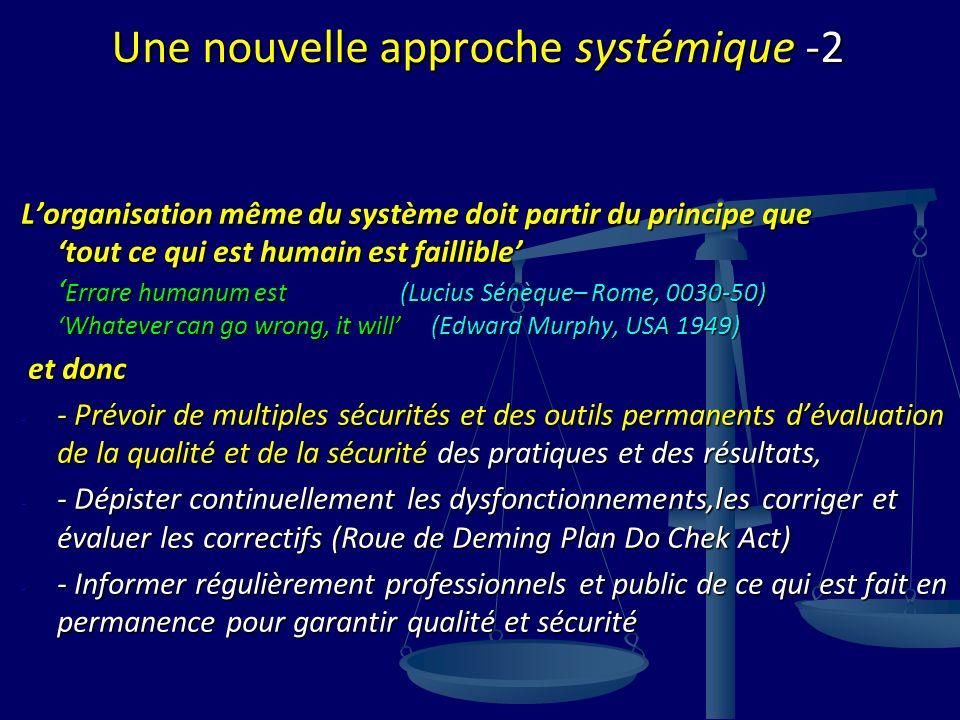 Une nouvelle approche systémique -2