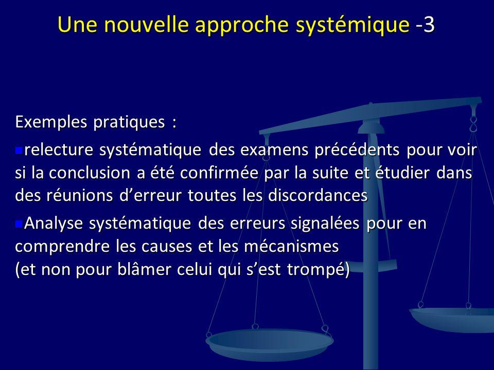 Une nouvelle approche systémique -3