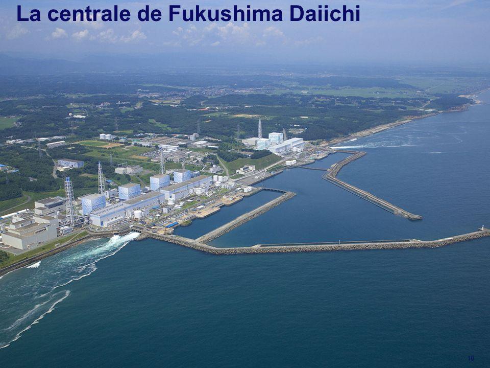 La centrale de Fukushima Daiichi