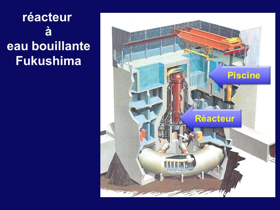 réacteur à eau bouillante Fukushima