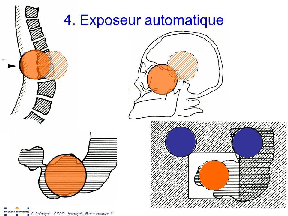 4. Exposeur automatique