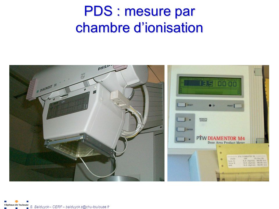 1 facteurs impactant la dose cha ne d acquisition ppt for Chambre d ionisation