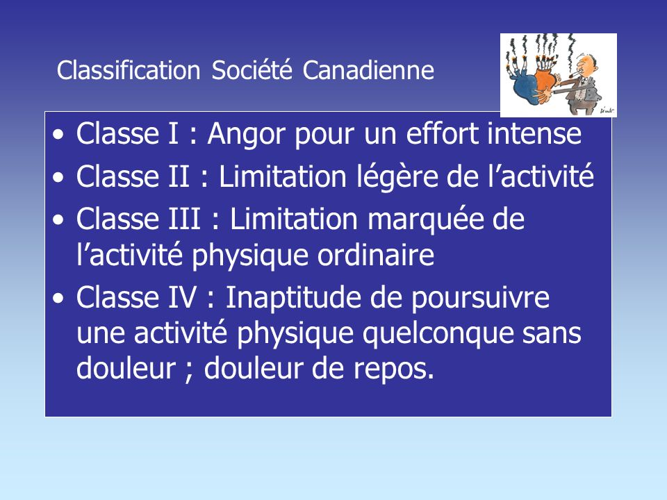 Classification Société Canadienne