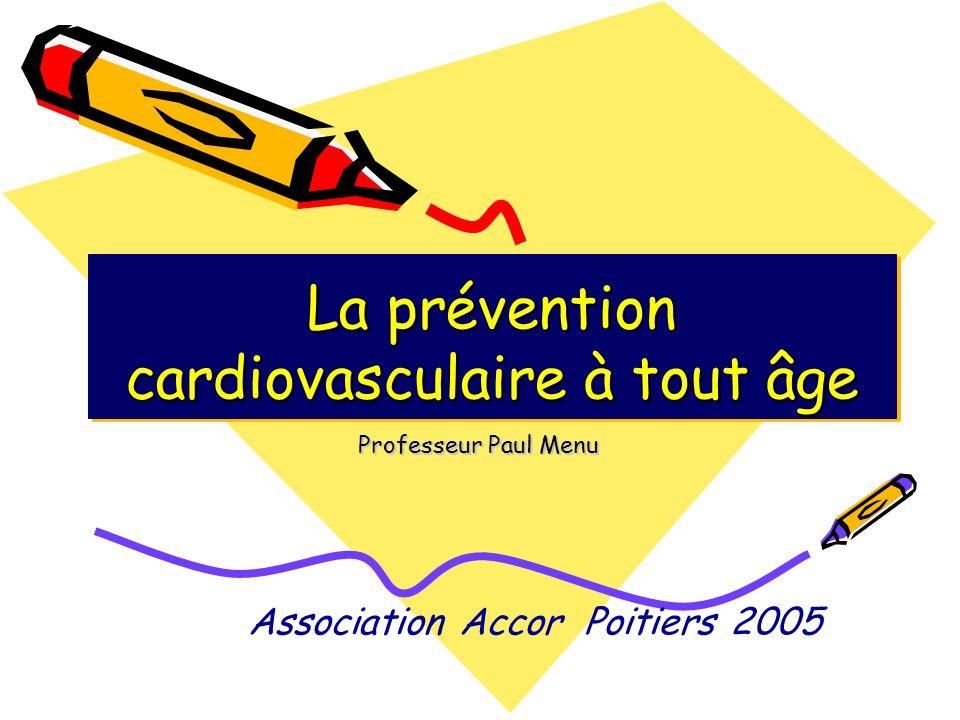 La prévention cardiovasculaire à tout âge