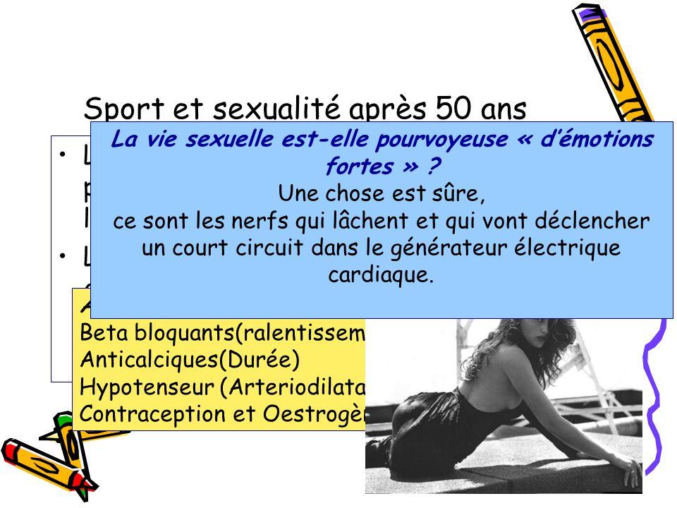 Sport et sexualité après 50 ans