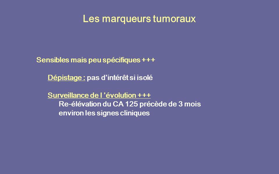 Les marqueurs tumoraux