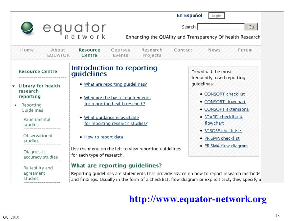http://www.equator-network.org