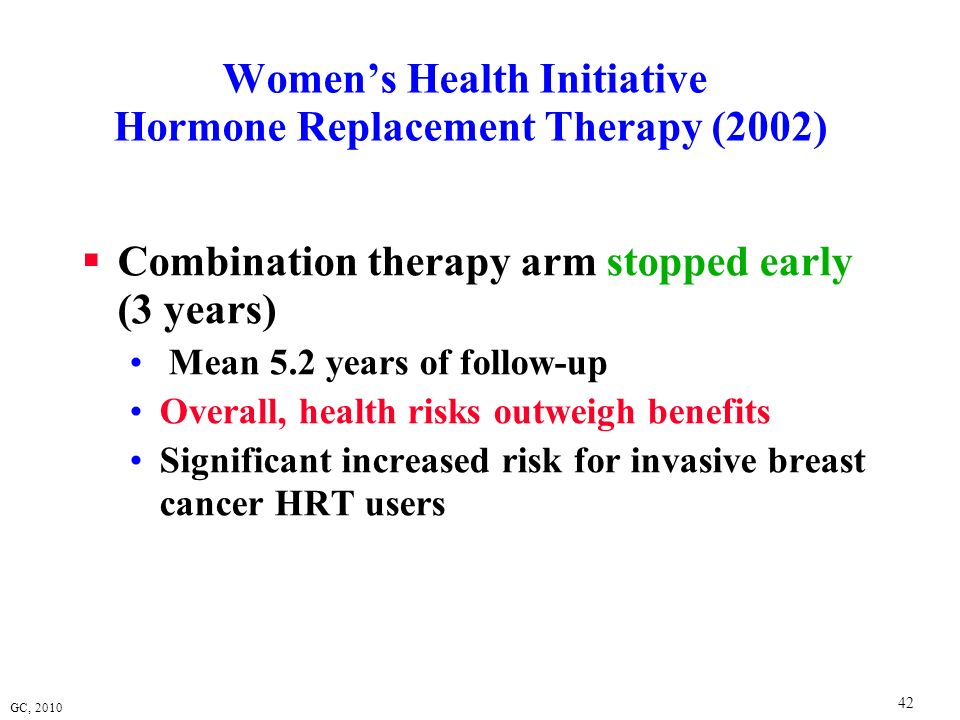 Women's Health Initiative Hormone Replacement Therapy (2002)