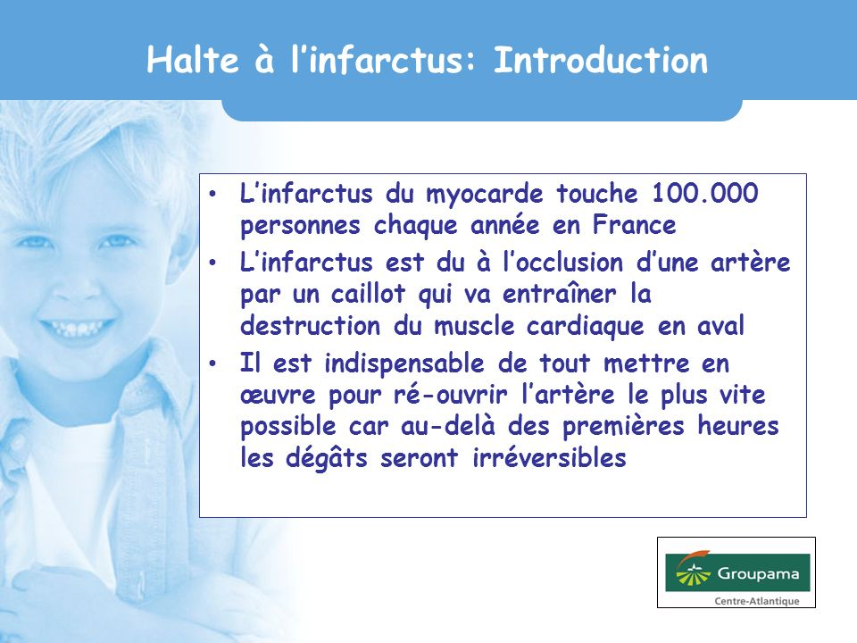 Halte à l'infarctus: Introduction