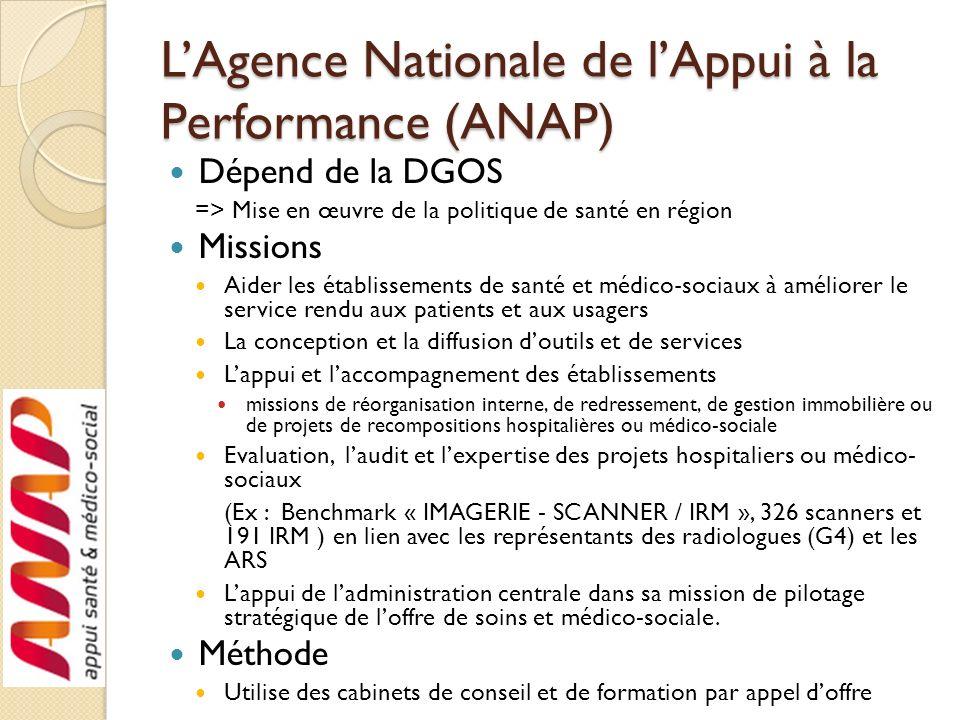 L'Agence Nationale de l'Appui à la Performance (ANAP)
