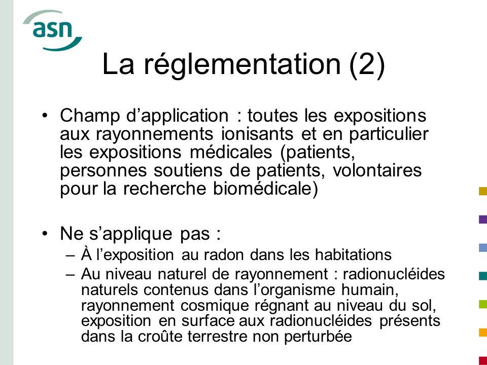 La réglementation (2)