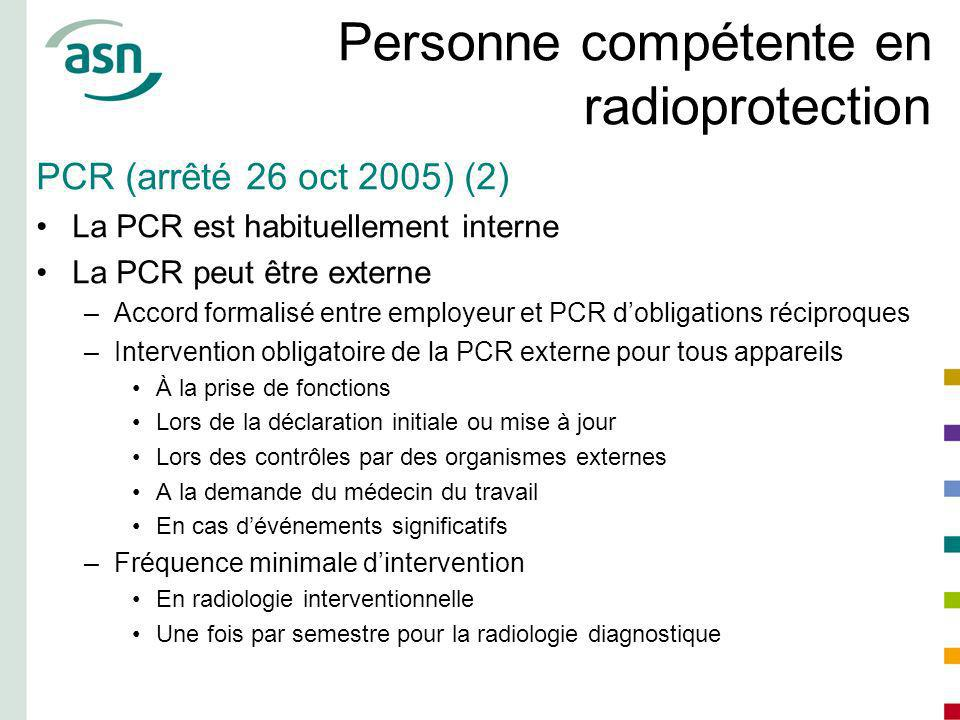 Personne compétente en radioprotection