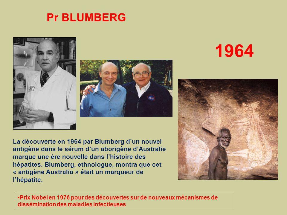 Pr BLUMBERG 1964.