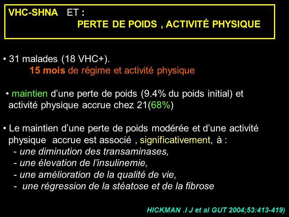 PERTE DE POIDS , ACTIVITÉ PHYSIQUE