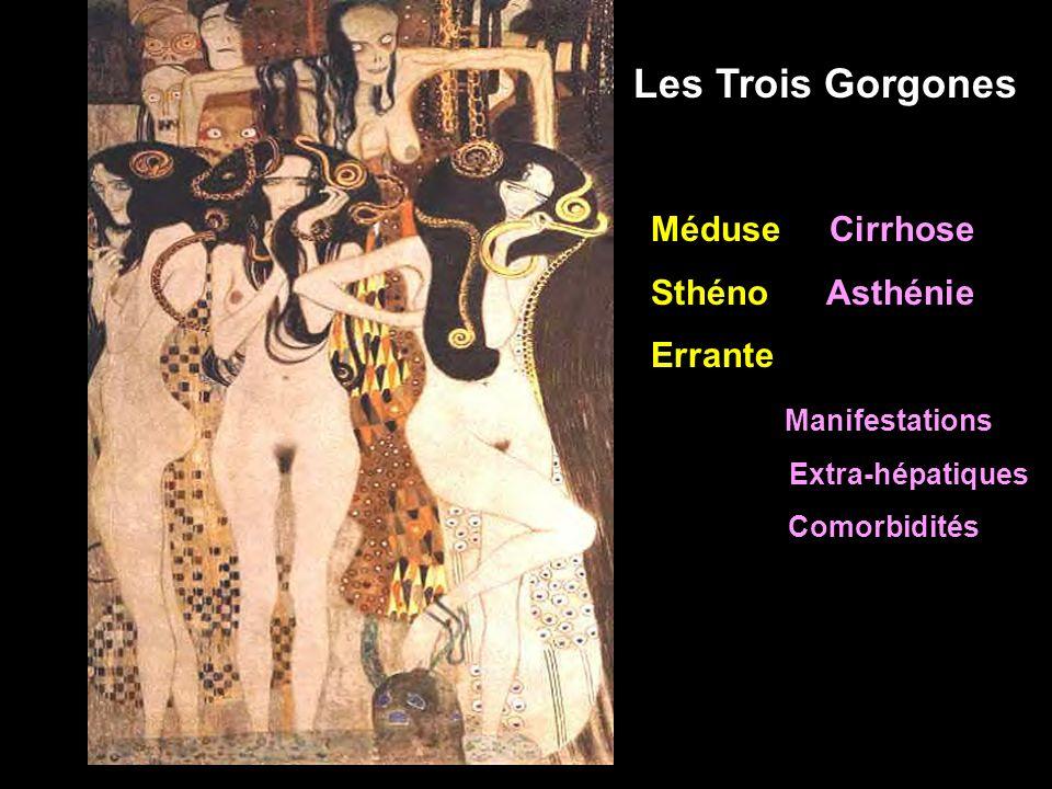 Les Trois Gorgones Méduse Cirrhose Sthéno Asthénie Errante
