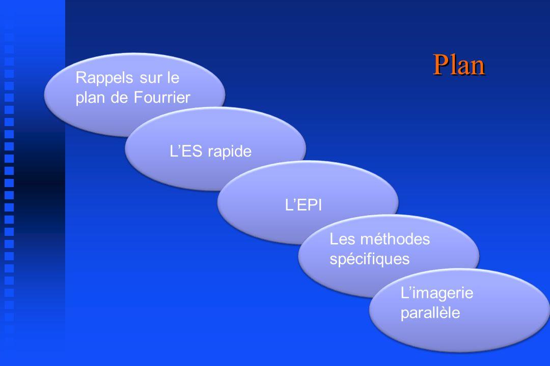 Plan Rappels sur le plan de Fourrier L'ES rapide L'EPI