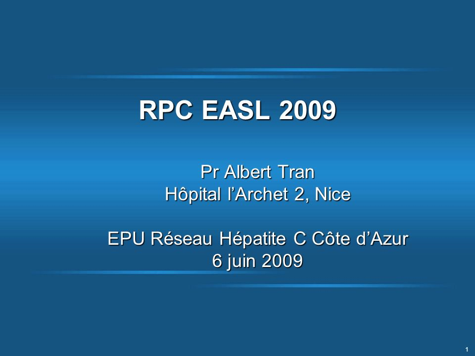 EPU Réseau Hépatite C Côte d'Azur