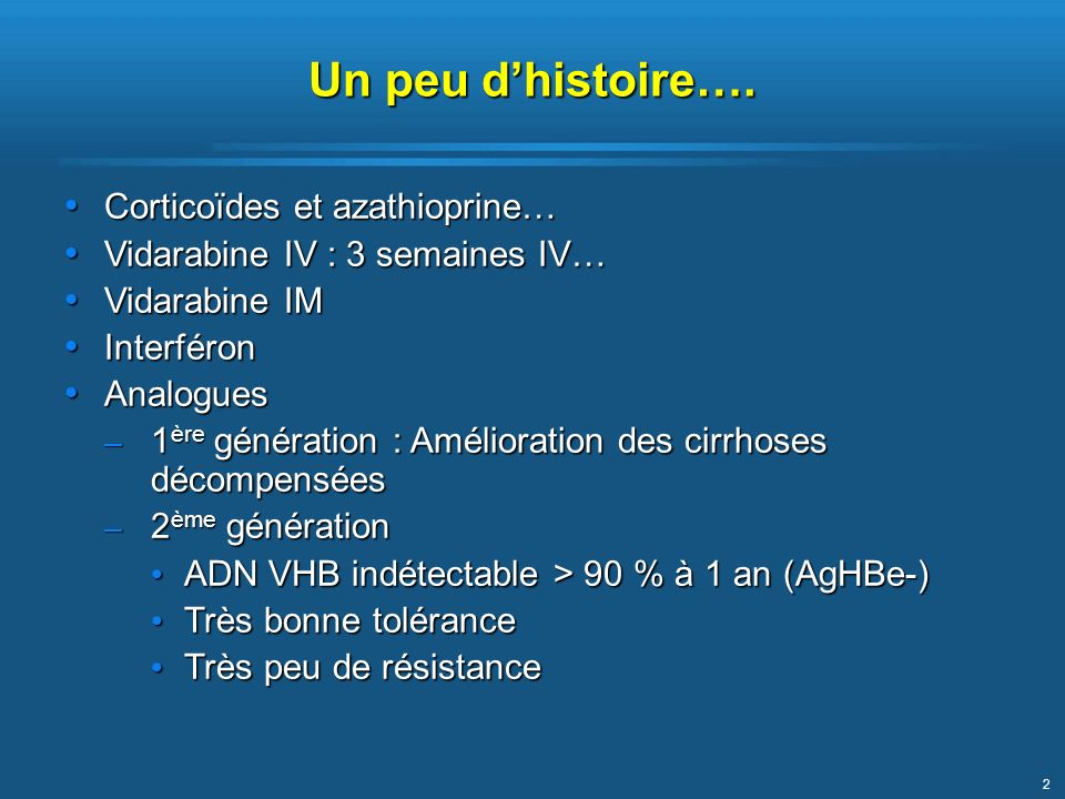 Un peu d'histoire…. Corticoïdes et azathioprine…